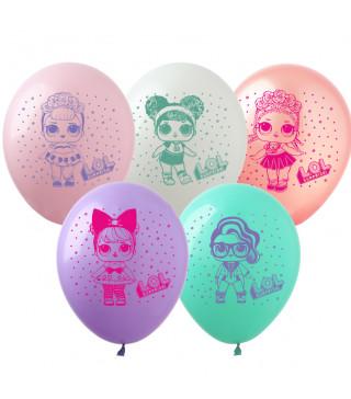 """Кульки поштучно з малюн. """"ЛОЛ"""" 12"""" Ш-02185 FlexMetal"""