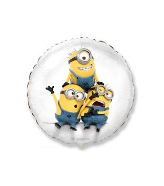 Кулька фольгована Міньйони