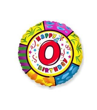 Шарик круглый Цифра 0