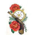 Подарки та приколи татуіровки 3Dасорті плівка 00232 Китай