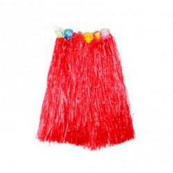 Костюм Спідниця гавайська  червона 50 см Поліетилен 1284 Китай