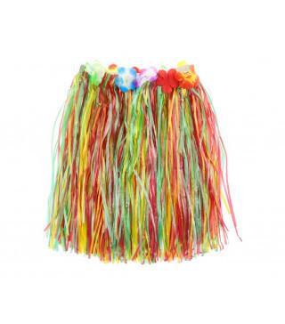 Юбка гавайская цветная, 50 см