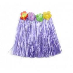 Костюм Спідниця гавайська  фіолетова 50см Поліетилен 1281 Китай