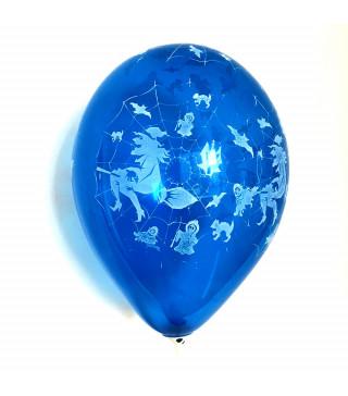 "Кульки поштучно з малюн. ""Павутина "" хелловін латекс Ш-10006"