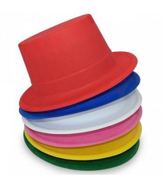 Капелюхи,шапки Циліндр кольровий пластик 02758 Китай