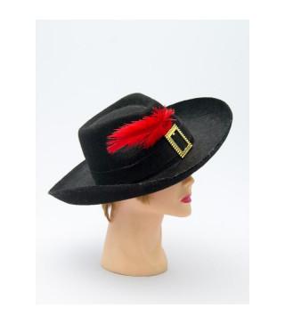 Капелюхи,шапки Мушкетера дитяча фетр 7555 Польща