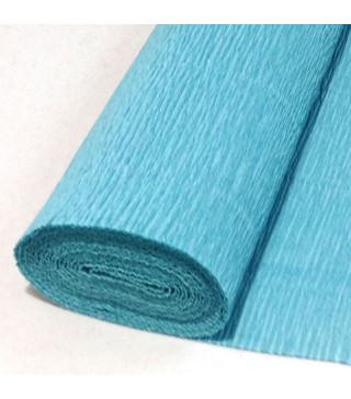 Пакувальна упаковка Креп-папір голубий(поштучно) 2м*50см. 99020 Польща