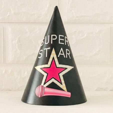 """Ковпачок """"SUPER STAR"""" 1шт папір.резинова стрічка F-100052"""