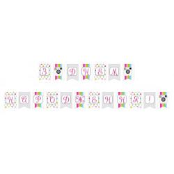 Гирлянда-флажки З Днем Народження Инстаграм