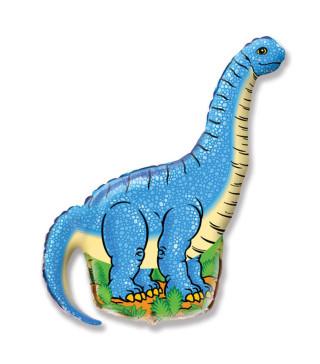 Кульки фігур. Динозавр блакитний (6п) 901544 FlexMetal