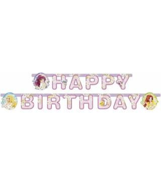 Гирлянда Принцессы Happy Birthday