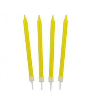 Свічки класичні жовті 10 шт./уп парафін 68307 Godan