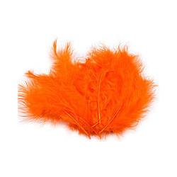 Піря декоративне оранжеве (5-8см) (12гр) 70011 Україна