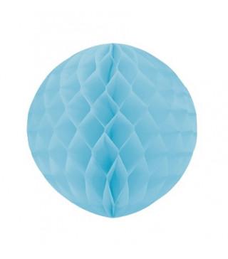 Бумажный шар-соты Голубой 30см