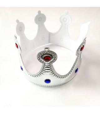 Корона Короля серебряная