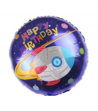 Кульки фольг з малюнк. Круг Космос(2,5г) 215301 Китай
