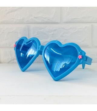 Окуляри Гіганти серце Синє пласмаса 1065 Китай