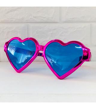 Окуляри Гіганти серце Рож. пласмаса 1062 Китай