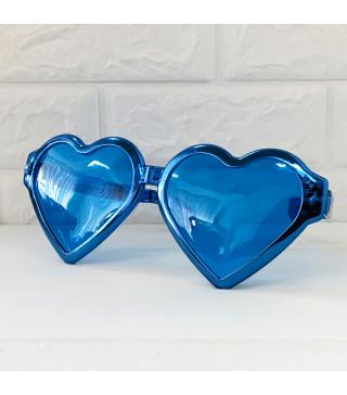 Окуляри Гіганти Сердце Сині металік пласмаса 10912 Китай