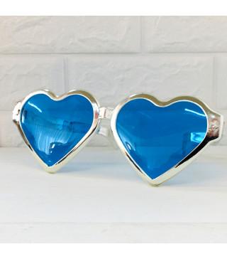 Окуляри Гіганти Сердце Срібні металік пласмаса 10913 Китай