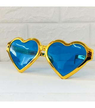 Окуляри Гіганти Сердце Золоті металік пласмаса 10915 Китай