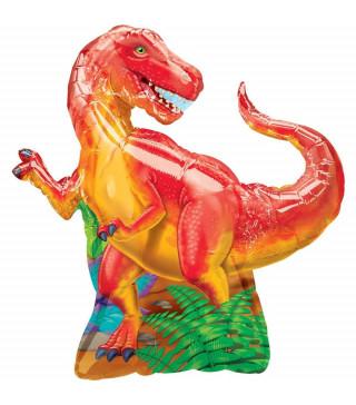 Кульки фігур. Динозавр 91см*76см (4п) фольга 21587 Китай