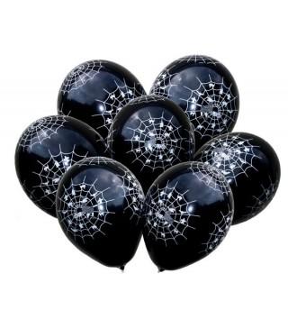 Кулька кругла 12 Павутинка мікс 100шт/уп