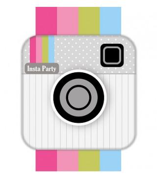 Серветки Insta Party 20 шт/уп. папір F-151579 Україна