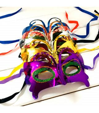 Маска Карнавальна Венеція пластик 0846 Китай