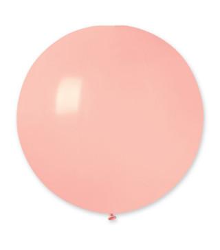 "Кульки пастель 19"" Рожеві.G150/00150шт/уп 15730 Gemar"