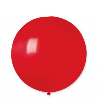 """Кульки пастель 19"""" Червоні G150/045 15450 Gemar"""