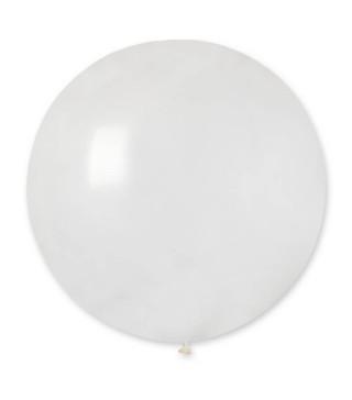 "Кульки пастель 19"" Білі G150/001 15010 Gemar"