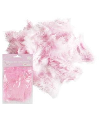 Піря декоративне рожеве (10гр) 6999 Китай