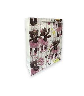 Подарунковий пакет Улюбленці 32*26*12,5см папір,плівка 280445 Гулівер