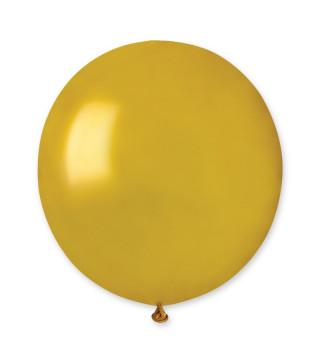 "Кульки пастель 19"" Золоті G150/039 50шт/уп 15390 Gemar"