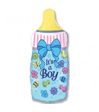 Кульки міні Пляшечка Its a Boy 902644 FlexMetal