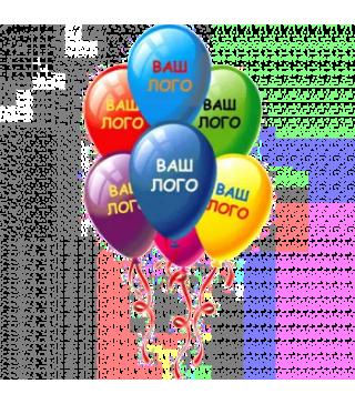Кульки латексні з вашим логотипом