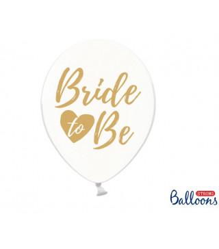 "Кульки поштучно з малюн. 12""Bride to be Ш-76371 PartyDeco"