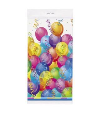 Скатертина святкова Повітряні Кульки