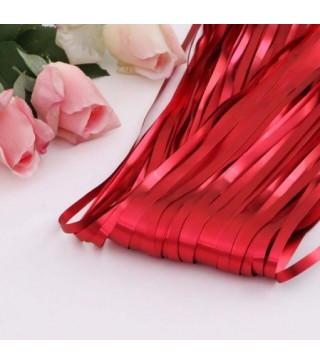 Декорація Шторка з дощику червона 2*1м фольга 52007 Китай