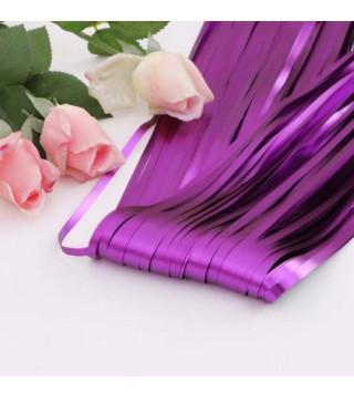 Декорація Шторка з дощику фіолетова 2*1м фольга 52008 Китай