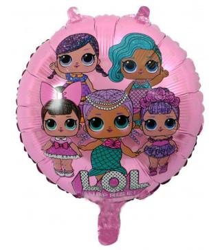 Кульки фольг з малюнк. LOL (2,5г) 215113 Китай