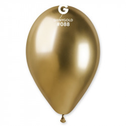 """Кульки хром """"13"""" (Хром)золото. 50шт/уп 12880 Qualatex"""