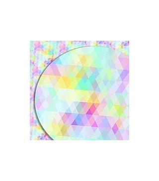 Подарочная бумага, цветная мозаика