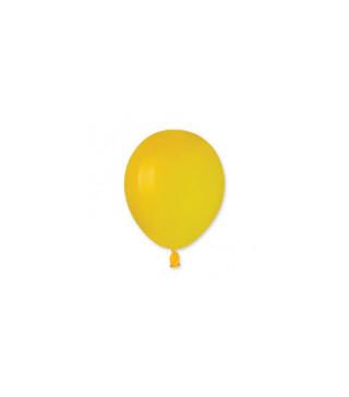 """Кульки жовті 3"""" (8см) пастель 100шт/уп"""
