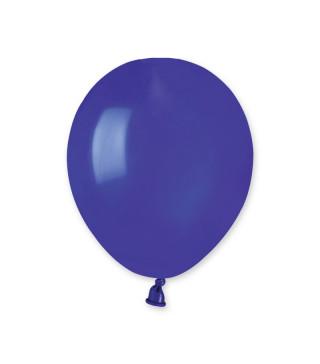 """Шарики темно синие 5"""" (13см) пастель 100шт/уп"""