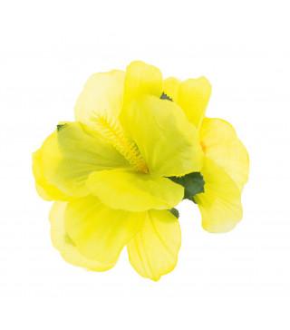 Заколка Гавайская желтая