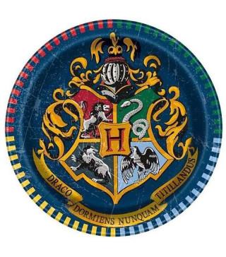 Тарілки Harry Potter 8шт/уп17,1см 59104 Unigue