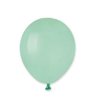 """Кульки пастель 5"""" БірюзовіА50/050 1 шт/уп 05501 Gemar"""