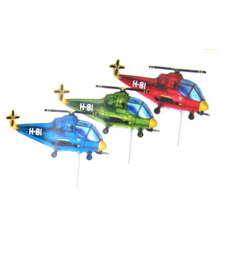 Кулька фольгована міні Гелікоптер